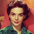 Natalie Wood, Vintage Actress by Mary Bassett