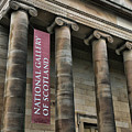National Gallery Of Scotland  by Chuck Kuhn