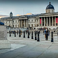 National Gallery Trafalgar Square by Mike Walker