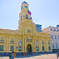 National History Museum On Plaza De Armas In Santiago-chile by Ruth Hager