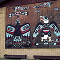 Native Alaskan Mural by Sally Weigand