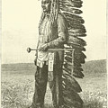 Native American by French School