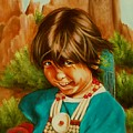 Native American Girl by Joni McPherson