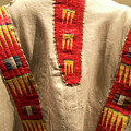 Native American Great Plains Indian Clothing Artwork 09 by Thomas Woolworth