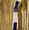 Native American Great Plains Indian Clothing Artwork Vertical 06 by Thomas Woolworth
