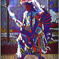 Native American - Male Fancy Dancer #4 by Carlos Frey