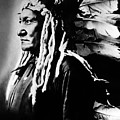 Native American Sioux Chief Sitting by Everett