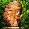 Native American Statue by LeeAnn McLaneGoetz McLaneGoetzStudioLLCcom