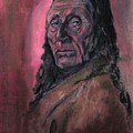 Native American Study by Raymond Doward
