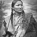 Native American Woman War Chief Pretty Nose by MotionAge Designs