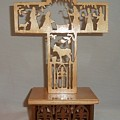 Nativity Cross  by M and D Magic Creations