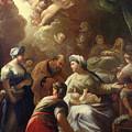Nativity by Luca Giordano