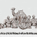 Nativity Scenne Sketch by Linda Phelps