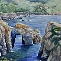 Natural Arch - Carmel by Sandy Fisher