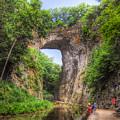 Natural Bridge - Virginia Landmark by Kerri Farley