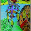 Natural Dream Catcher by Betty J Roberts