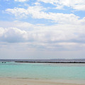 Natural Landscape With The Ocean From An Island In Maldives by Oana Unciuleanu