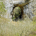 Natural Limestone Arch At Dove Valley by Rod Johnson