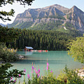 Naturally Framed Lake Louise by Carol Groenen