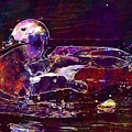 Nature Animals Duck Lake  by PixBreak Art