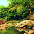 Nature Is Beautiful Impressionism by Isabella Howard