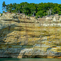 Nature Made- Indian Head Pictured Rocks by Eric Davenport