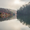 Nature Views Near Chimney Rock And Lake Lure by Alex Grichenko