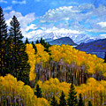 Natures Patterns - Rocky Mountains by John Lautermilch