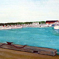 Naufrage Harbour Pei by Richard Le Page