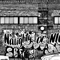 Naughty Or Nice In B W by Rob Hans