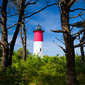Nauset Lighthouse by Emmanuel Panagiotakis