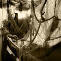 Nautical Dreams In Sepia by Bonnie Follett
