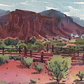 Navajo Corral by Donald Maier
