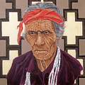 Navajo Medicine Man by Raymond Schuster