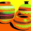 Navajo Pots by Will Borden