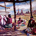 Navajo Weavers by Nancy Griswold