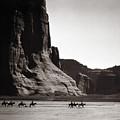 Navajos: Canyon De Chelly, 1904 by Granger
