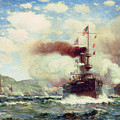 Naval Battle Explosion by James Gale Tyler