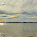 Naval Live Oaks Nature Preserve Beach Panoramic  by Maggy Marsh