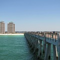 Navarre Fishing Pier by Michelle Powell