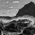 Navarro Beach Waves Albion Ca by Donnie Whitaker