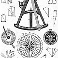 Navigational Instruments, E.g. Sextant by Wellcome Images