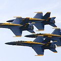 Navy Blue Angels  by Ricky L Jones