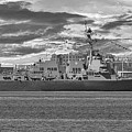 Navy Destroyer Uss Ralph H Johnson by Dale Powell