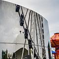 Navy Pier Reflection by Randy J Heath