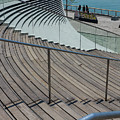 Navy Pier Stairs by Jennifer White
