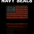 Navy Seals Flag by David Lee Thompson