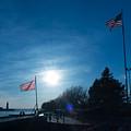 Navy Sunset by Chris Bordeleau