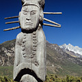 Naxi Ceremonial Totems by Gloria and Richard Maschmeyer - Printscapes