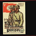 Nazi Propaganda Poster Number 3 Circa 1943 by David Lee Guss